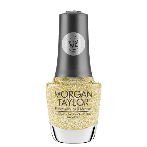 "Morgan Taylor ""California Gold"" - Gold Glitter Overlay, 15 mL 
