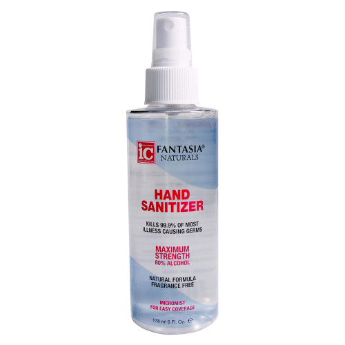 Fantasia Naturals 6 oz. Hand Sanitizer Spray, Case Pack of 6