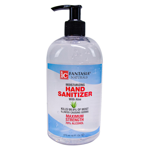 Fantasia Naturals 16 oz. Hand Sanitizer Gel Pump, Case Pack of 12