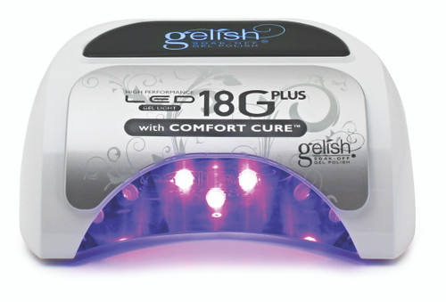 Gelish PolyGel Professional French Manicure Starter Kit with LED/UV Light, Nail File Included