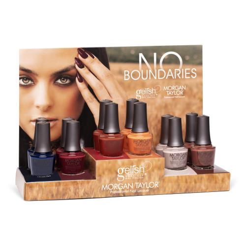 Morgan Taylor Nail Lacquer No Boundaries Collection Display, 12 pc.