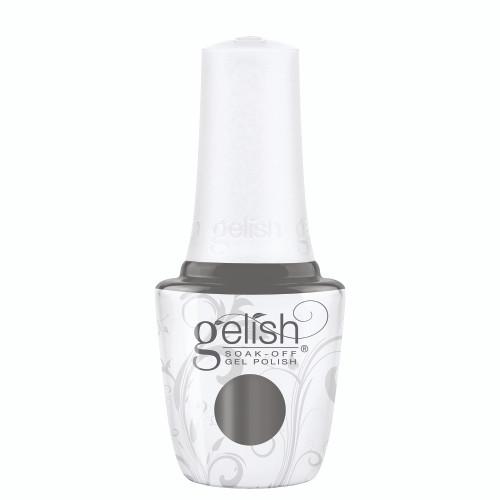 Gelish 18G Plus LED Light with Gray Creme Soak-Off Gel Polish + Top and Base Coats