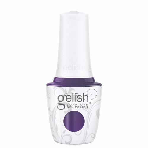 Gelish 18G Plus LED Light with Purple/Blue Pearl Soak-Off Gel Polish + Top and Base Coats