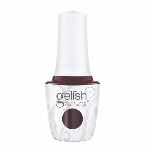 Gelish 18G Plus LED Light with Burgundy Soak-Off Gel Polish + Top and Base Coats