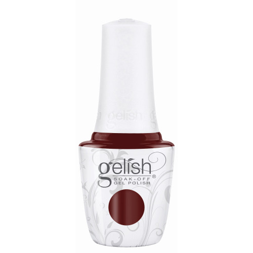 """Gelish """"Uncharted Territory"""" 2 pc. Duo - Soak Off Gel Polish and Lacquer - Garnet Creme"""
