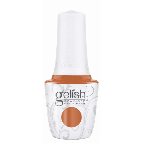 """Gelish """"Catch Me If You Can"""" 3 pc. Trio - Soak Off Gel Polish, Lacquer, and Dip - Pumpkin Creme"""