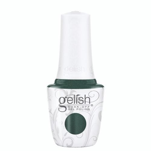 "Gelish Disney Villains ""Mistress of Mayhem"" 2 pc. Duo - Soak-Off Gel Polish and Lacquer - Emerald Glitter"