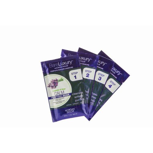 BareLuxury Calm Lavender & Sage 4 Pack - Includes 1 Each Of Soak, Masque, Scrub, Massage Butter