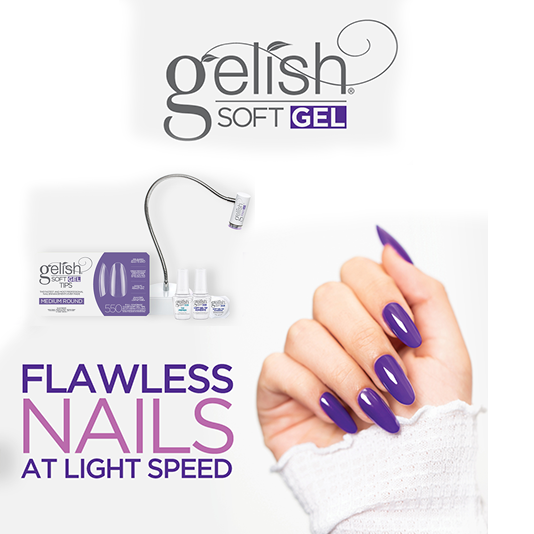 Gelish Soft Gel Step By Step