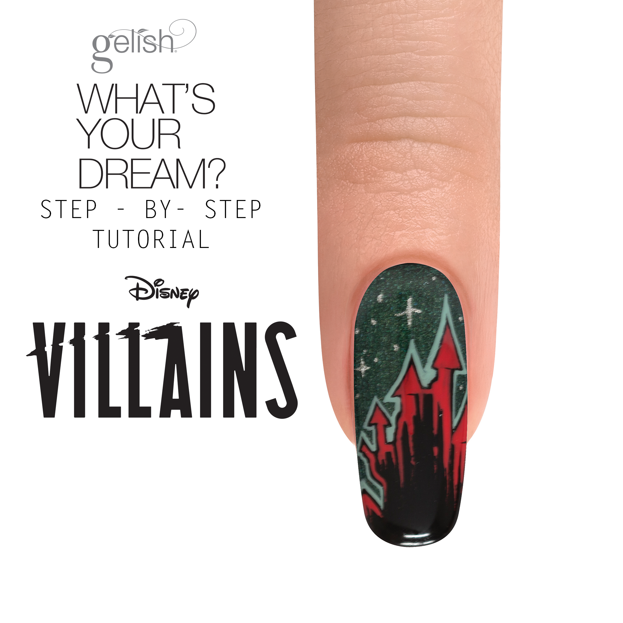Step-by-Step Nail Art: What's Your Dream?