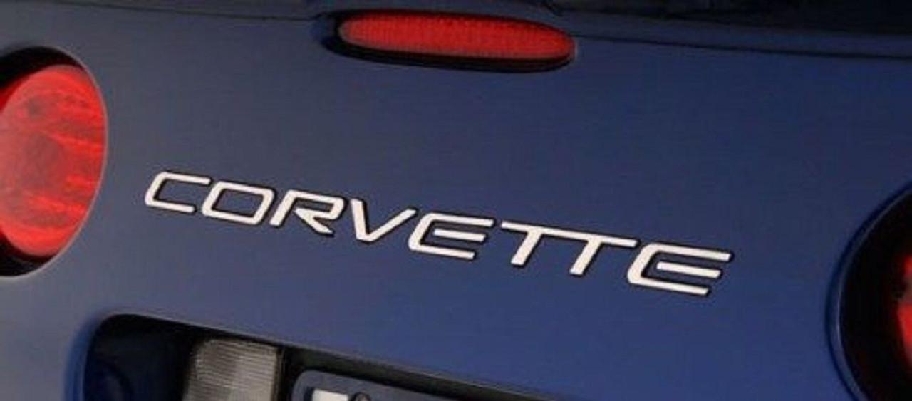 1997 - 2004 Corvette C5 Stainless Steel Letter Set (Fits Rear Bumper)