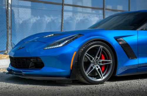 2014 - 2019 Corvette C7 Front and Rear Lowering Bolts (Except Z07 Package)
