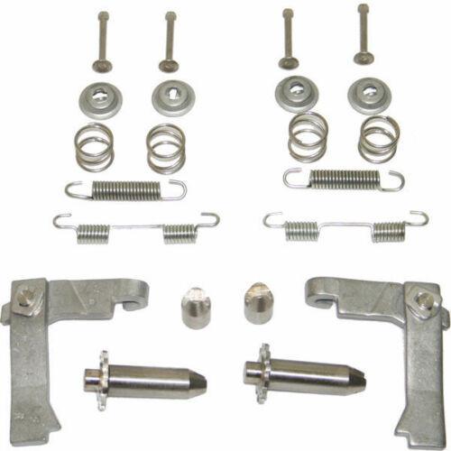 1963 - 1967 Corvette C2 Parking Brake Hardware Kit Stainless Steel (Both Sides)
