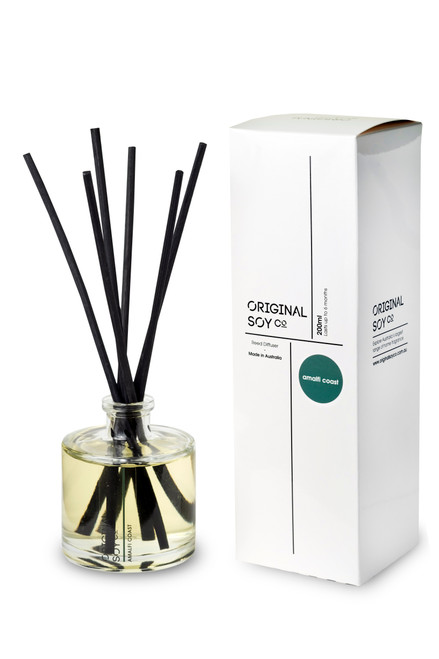 original soy reed diffuser black sticks