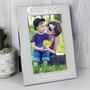 Personalised To the Moon and Back...  Silver Photo Frame