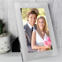 Personalised Mr & Mrs Silver Photo Frames