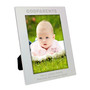 Personalised Silver Godparents Photo Frame