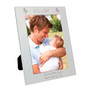 Personalised Silver Footprints Photo Frame
