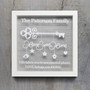 Home Sweet Home Key Frame - Personalised House Warming
