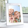 Personalised Silver 5 x 7 Photo Frame