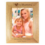 Personalised I Heart My... 7 x 5 Wooden Photo Frame