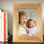 Personalised 7x5 Wooden Photo Frame