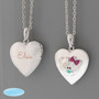 Personalised With Name Me To You Silver Tone Heart Locket