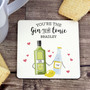 Personalised 'Gin to My Tonic' Coaster