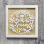 Happy Birthday Frame - Personalised