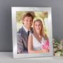 Personalised Mr & Mrs 10 x 8 Silver Photo Frame