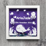 Personalised Baby Frame - Under The Sea Nursery Frame