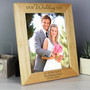 Personalised Our Wedding Day Frame