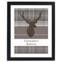 Personalised Highland Stag Family Frame