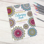 Personalised Mandala Colouring Book