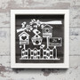 Personalised Box Frame - Home Sweet Home Frame