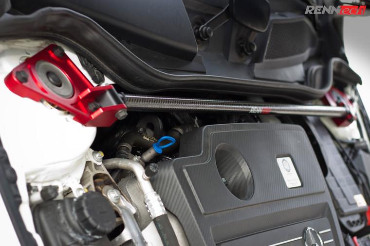 RENNtech   Carbon Fiber Front Strut Brace   117 - CLA   176 - A   156 - GLA