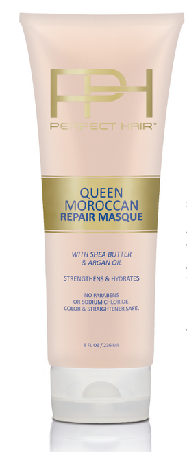 Queen Moroccan Repair Masque with Shea Butter and Argan Oil, 8 OZ …