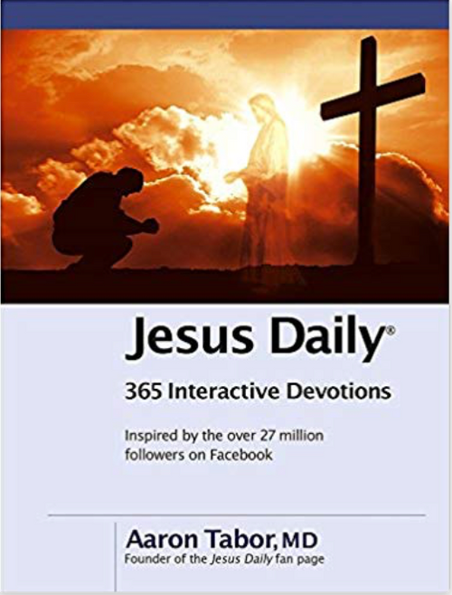 Based on the major themes found on the most active Facebook page in history, JESUS DAILY is a 365-day interactive devotional that goes beyond even the fan page to create a deeper experience and cultural movement that celebrates your redemption in Christ. JESUS DAILY presents a devotional thought but also challenges you to respond to each daily reflection using a variety of social media tools.   JESUS DAILY is a worldwide revolution in how you can connect, share, and worship the Father personally and with other believers.
