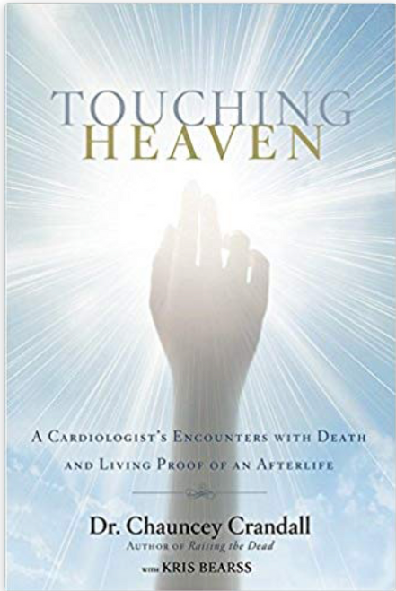 """How a doctor's glimpses of eternity confirmed everything he believed about God, suffering, life on earth, and what happens after death. Dr. Chauncey Crandall knows his patients well. When they are dying, he sits at the bedside with them and holds their hands. He prays with them. Sometimes he can feel what they feel and see what they see. At other times his patients have near-death experiences and """"come back"""" with astonishing descriptions of the afterlife. In TOUCHING HEAVEN, Dr. Crandall reveals how what he has seen and heard has convinced him that God is real, that we are created for a divine purpose, that death is not the end, that we will see our departed loved ones again, and that we are closer to the next world than we think."""