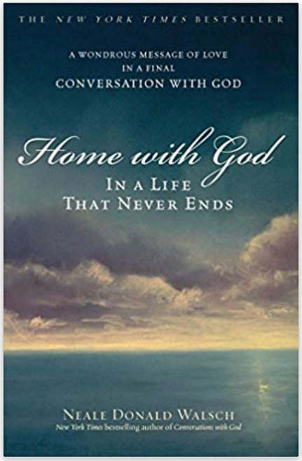 An uplifting masterwork of comfort and compassion exploring the ultimate questions of existence and transcendence.  Nothing has riveted humanity's interest more, nor has anything been more frightening or awe-inspiring, than the finality of death. In Home with God, the last installment of his bestselling Conversations with God series, Neale Donald Walsch asks the questions that everyone has longed to ask and receives the answers readers have all been waiting for. Through his profound and personal dialogue with God, Walsch explores the process by which all human beings must end their days here on Earth and begin their new life in God's Kingdom -- to which all eventually return, regardless of their earthly deeds. An astonishing and spiritual work, Home with God offers hope, comfort, and surprising revelations for all humankind.