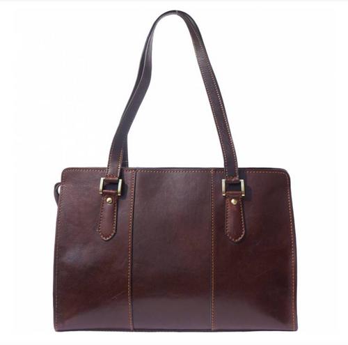 Leather Shoulder Bag 6557