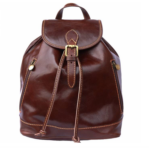 Leather Back Pack 6560
