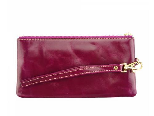 Leather Wrist Wallet