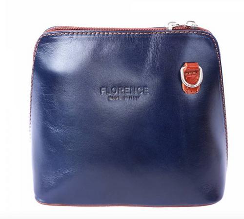 Leather Cross Body Bag - 201
