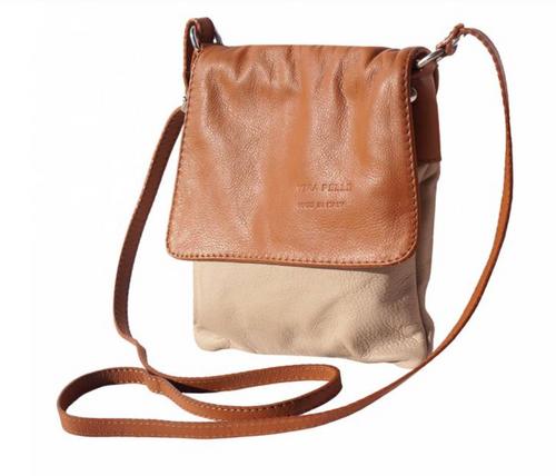 Cross Body Leather Bag - 414