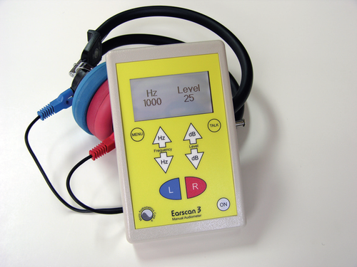 Earscan ES3M Manual Audiometer