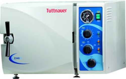 Tuttnauer 2340M manual Autoclave -Sterilizer