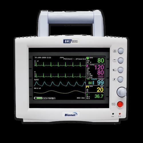 Bionet BM3 Multi-parameter Patient Monitor