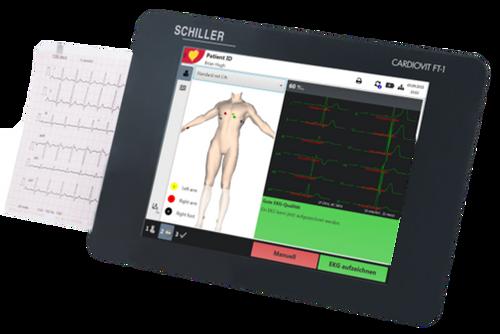 Schiller Cardiovit FT-1 ECG/EKG