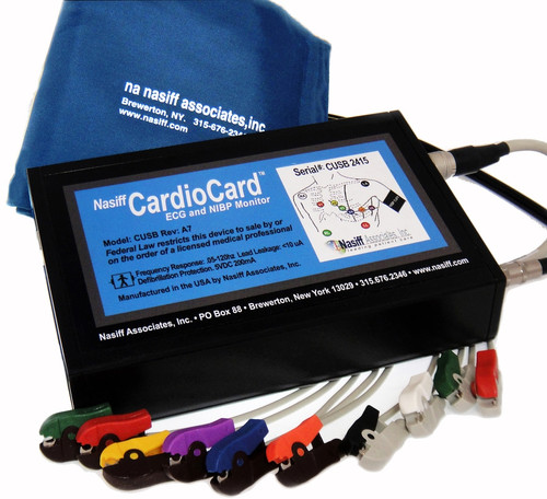 Nasiff Cardiocard  PC Based ECG System with NIBP